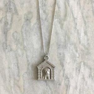 Doghouse Necklace